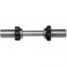 Гриф для гантели хромированный BARBELL MB-BarM50-M390B