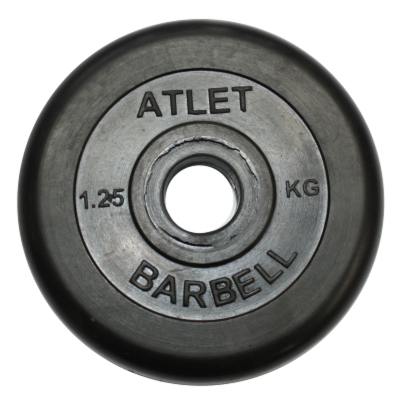 Диск BARBELL MB-AtletB31-1,25