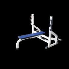 Скамья - стойка для жима штанги лежа BARBELL MB 2.06