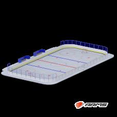 Хоккейная коробка 20х40 ARMSPLAY2040R4