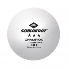 Мячики для н/т DONIC Champion 3* 3 шт