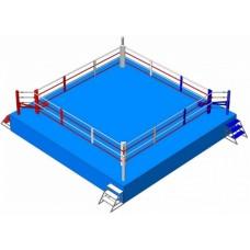 Ринг Real Fight на помосте (высота 1 м)