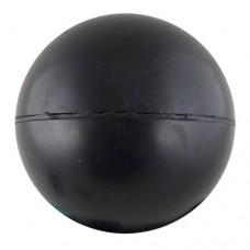 Мяч для метания, арт.MR-MM, резина, диам. 6 см, вес 150 г, ЧЕРНЫЙ