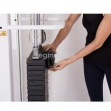 Фиксатор для увеличения веса стека для тренажеров