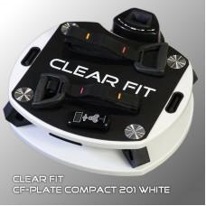 Виброплатформа Clear Fit CF-PLATE Compact 201 WHITE