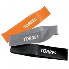 """Эспандер """"TORRES набор латексных жгутов"""", арт. AL0033, дл. 24 см, шир. 5 см, 3 жгута с разным сопрот"""