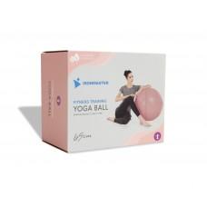 Гимнастический мяч 65 см розовый IRBL17106-P