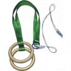 Кольца гимнастические ZSO-KGP